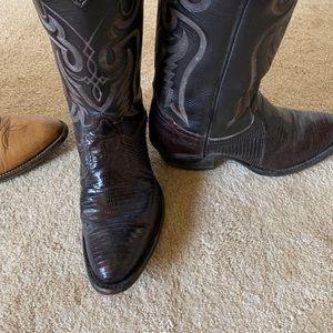 Tony lama vintage exotic boot size 6.5 men's